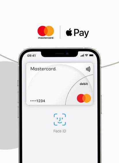 Mastercard mit Apple Pay